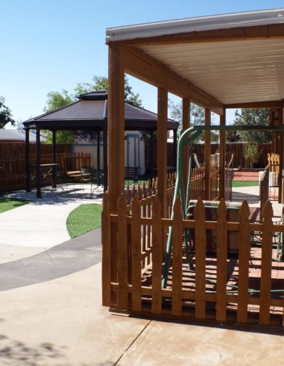 Nice outdoor spaces for our assisted living residents