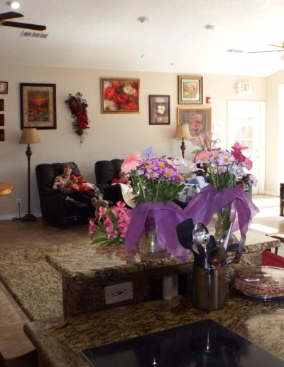 Wide open spaces for our assisted living residents