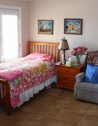 Residents personalize their bedrooms to feel right at home