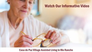 Video about the home comforts of Casa de Paz Assisted Living