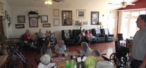 Lunch time with Casa de Paz residents